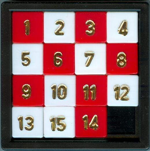 How to solve sliding puzzle also called 15 puzzle