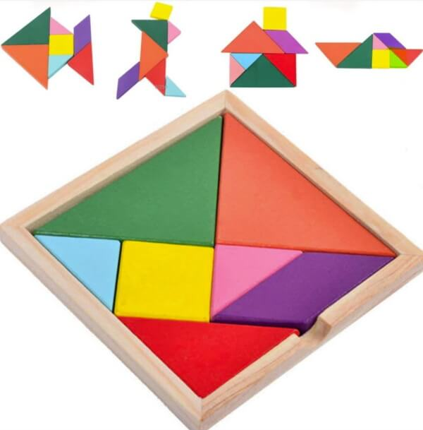 How to solve Tangram Puzzles