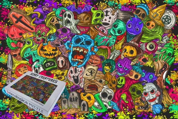 best horror adult 1000 piece puzzles