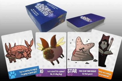Dogs of the Galaxies card game for family game nights