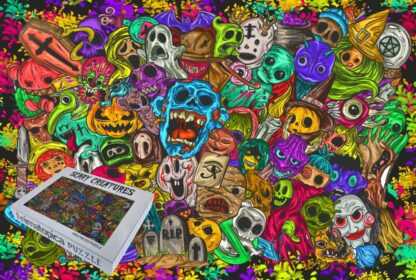 Scary Creatures 1000 piece adult Jigsaw Puzzle